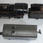 Unrestored black 259 and gunmetal tender