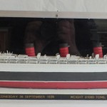 Revell plastic kit of the RMS 'Queen Mary'