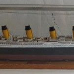 Revell plastic kit of the RMS 'Titanic'