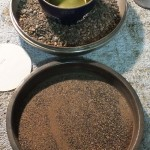 Sand Tray, Quenching Oil & Stone Tray To Catch Spills