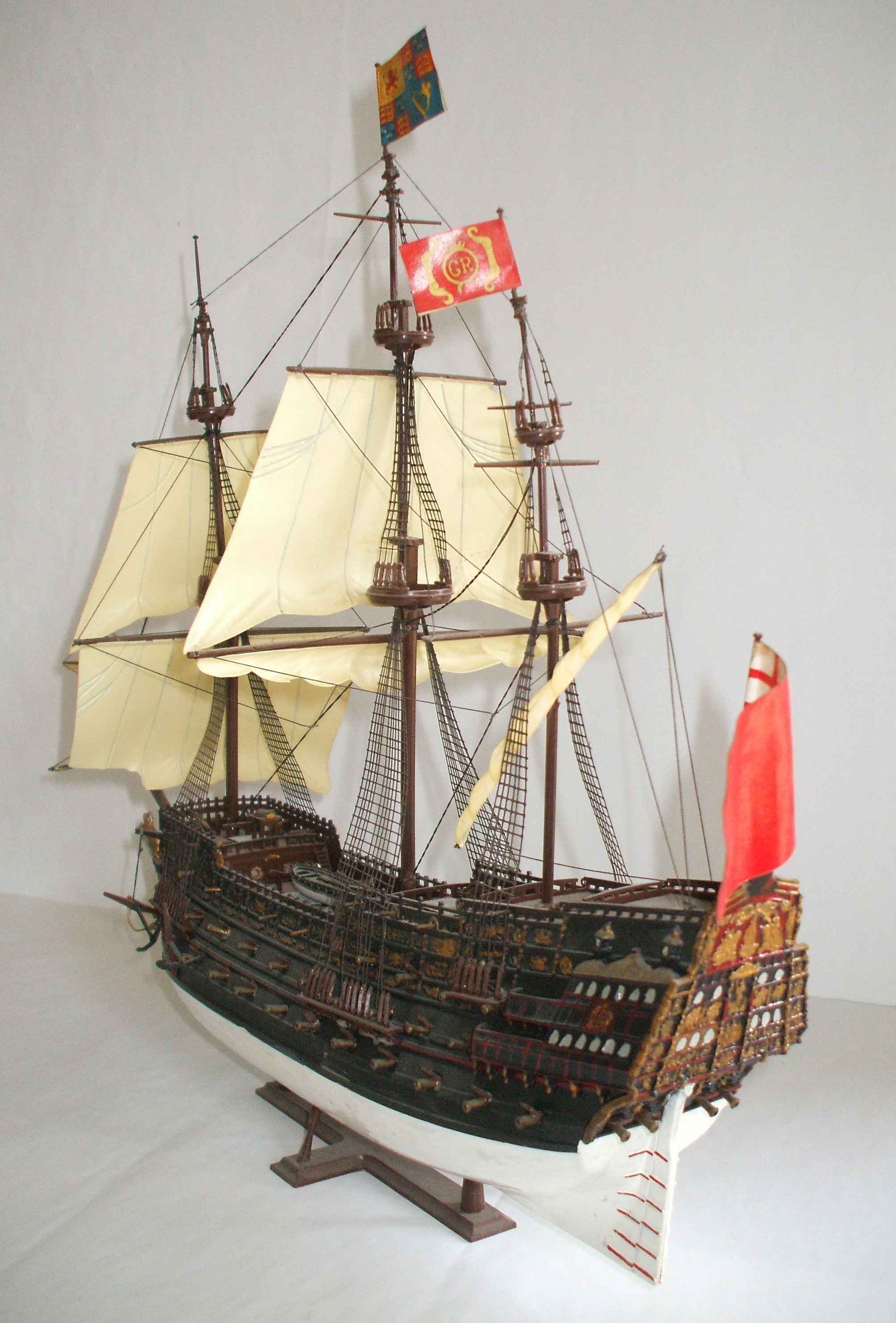Airfix, Royal Sovereign, Plastic Kit, Galleon, Model Galleon,