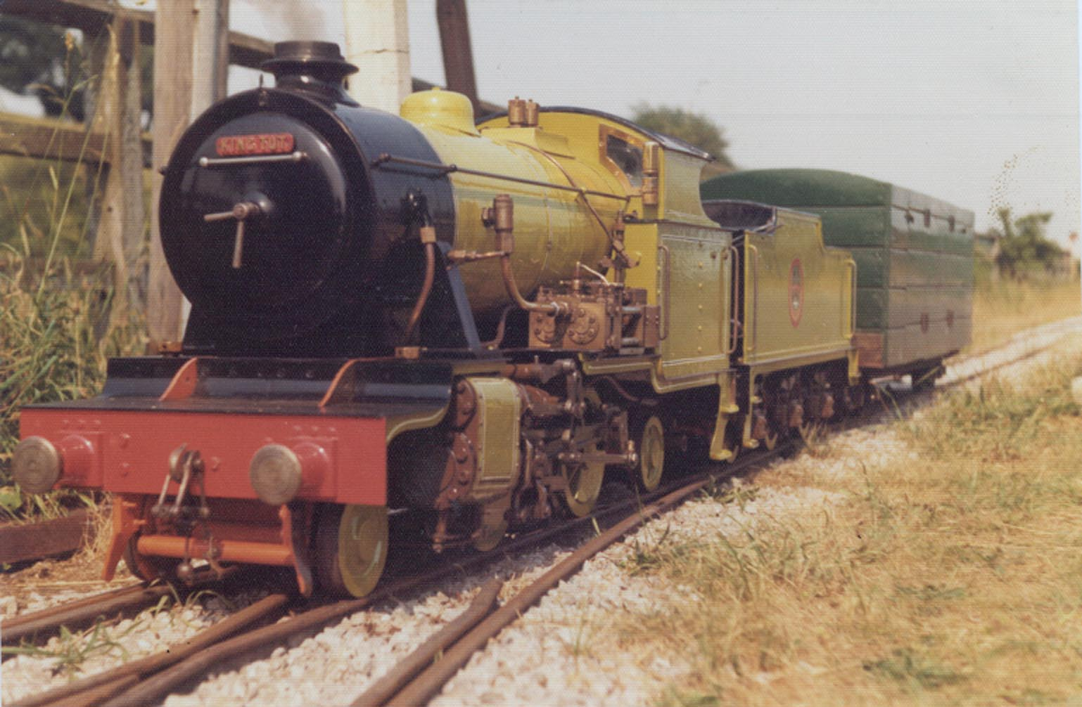 """Embsay and Bolton Abbey Railway, YDRMT, YDR, Yorkshire Dales Railway, 9½"""" gauge, Coal Fired, 2-4-2, Live Steam"""