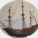 Lot Number 75. A Model Galleon.