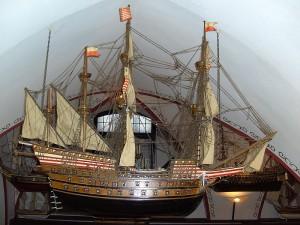 Hanseatic league flagship Adler von Lübeck (1567-88)