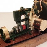 Steam Engine, Viewed From The Stern.