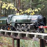 Scottish Model Engineering Trust's raised track