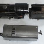 Unrestored black 259 and gunmetal tender