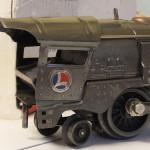 Gunmetal 259E with damaged cab