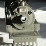 Gunmetal Lionel 259E repainted smokebox & pilot