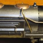 Incorrect metallic finish & black smokebox