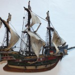 Galleon three as received