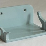 Wall mounted stand for a galleon - painted finish