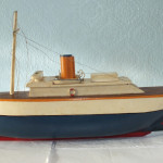 1937 steam boat for complete refit and return to full working order.